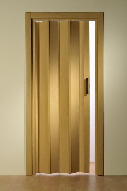 falttür ohne fenster verschiedene holz-farben standard,