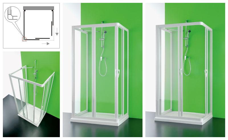 Dusche Eckeinstieg 75X90 : Passend zur Duschkabine bieten wir Ihnen folgende Stellwand mit an: